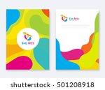 kids arts company document... | Shutterstock .eps vector #501208918