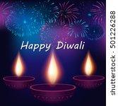 festival of lights  happy...   Shutterstock .eps vector #501226288