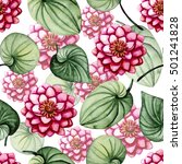 seamless pattern with... | Shutterstock . vector #501241828