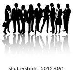 business people | Shutterstock .eps vector #50127061