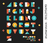 "pop art vintage style designed ""... | Shutterstock .eps vector #501295690"