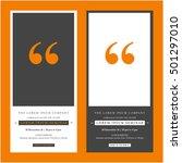 business seminar invitation... | Shutterstock .eps vector #501297010