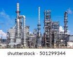 oil industry refinery factory   ... | Shutterstock . vector #501299344