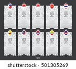 asean economics community  aec  ... | Shutterstock .eps vector #501305269