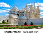 exterior of the hindu temple ... | Shutterstock . vector #501306454