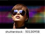 portrait of a beautiful dancing ... | Shutterstock . vector #50130958