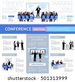 conference meeting people... | Shutterstock .eps vector #501313999