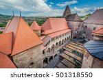 hunyad castle   corvin's castle ...   Shutterstock . vector #501318550
