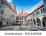 hunyad castle   corvin's castle ...   Shutterstock . vector #501318568