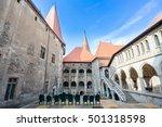 hunyad castle   corvin's castle ...   Shutterstock . vector #501318598