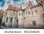 hunyad castle   corvin's castle ...   Shutterstock . vector #501318634