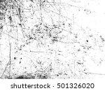 grunge overlay texture.... | Shutterstock .eps vector #501326020