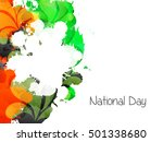 creative illustration poster or ... | Shutterstock .eps vector #501338680