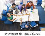 architect cafe casual...   Shutterstock . vector #501356728