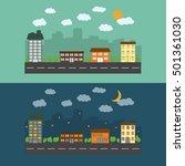 city   Shutterstock .eps vector #501361030