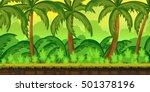 jungles landscape for ui game ...