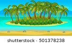 island game landscape  unending ...
