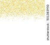 gold glitter texture. golden... | Shutterstock .eps vector #501383950