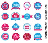 web stickers  banners and...   Shutterstock .eps vector #501386728