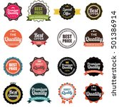 web stickers  banners and... | Shutterstock .eps vector #501386914