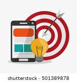 smartphone and digital... | Shutterstock .eps vector #501389878