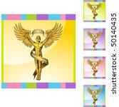 chiropractic symbol | Shutterstock .eps vector #50140435