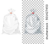 set of transparent wrap bags... | Shutterstock . vector #501427453
