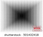 abstract halftone logo design... | Shutterstock .eps vector #501432418