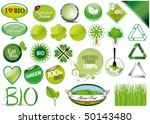 collection of twenty seven... | Shutterstock .eps vector #50143480