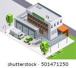 vector flat illustration auto... | Shutterstock .eps vector #501471250