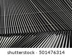 metal louver architectural... | Shutterstock . vector #501476314