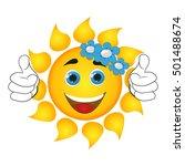 sun   Shutterstock .eps vector #501488674