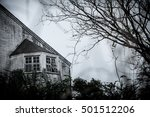 old abandoned haunted house... | Shutterstock . vector #501512206