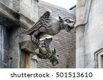 Gargoyle Statue Of Church In...