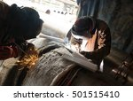 Parallel Welding Of Two Pipe...