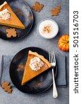 Pumpkin Pie  Tart Made For...