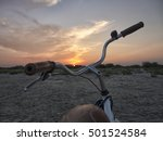 picture of a beautiful sunset... | Shutterstock . vector #501524584