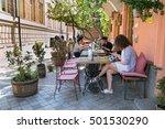 tbilisi  georgia   oct 6  2016  ... | Shutterstock . vector #501530290