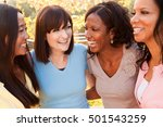 girlfriends friendship... | Shutterstock . vector #501543259