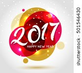 happy new year background with... | Shutterstock .eps vector #501546430