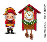 the nutcracker and the antique... | Shutterstock .eps vector #501548509