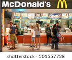 cagliari  italy   october 18 ... | Shutterstock . vector #501557728