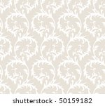 seamless floral retro pattern | Shutterstock .eps vector #50159182