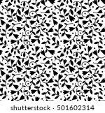 cute floral pattern in the... | Shutterstock .eps vector #501602314