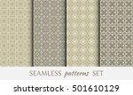 seamless geometric line... | Shutterstock .eps vector #501610129
