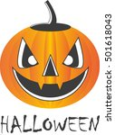 pumpkin for halloween | Shutterstock .eps vector #501618043