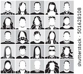 people silhouette | Shutterstock .eps vector #501628108