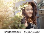 beautiful adult woman portrait | Shutterstock . vector #501643630