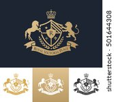 crest logo | Shutterstock .eps vector #501644308