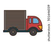 truck vehicle transport... | Shutterstock .eps vector #501646039